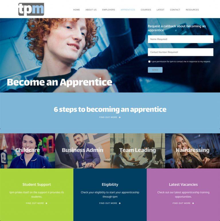 tpm website design